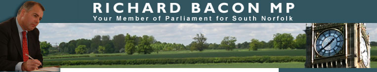 Richard Bacon MP - Member of Parliament for South Norfolk